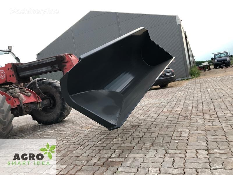 new SMART Schaufel mit seitlichem Auswurf 2,0m / Szufla bocznego wysypu front loader bucket